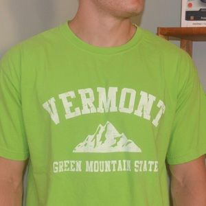 Vermont the Green Mountain State T-Shirt
